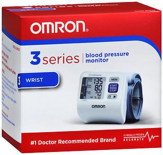 OMRON 3 Series Blood Pressure Monitor Wrist - BP629