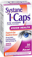 I-Caps Eye Vitamin Lutein and Omega-3 - 30 Softgels