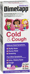 Children's Dimetapp Cold & Cough Liquid, Grape Flavor - 4 Ounces