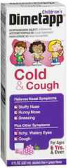 Children's Dimetapp DM Elixir Cold and Cough - 8 Ounces