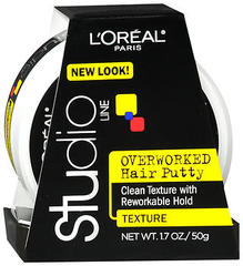 L'Oreal Studio Line Overworked Hair Putty - 1.7 Ounces
