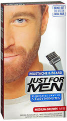 Just For Men Mustache and Beard, Medium Brown
