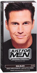 Just For Men Shampoo-In Haircolor, Real Black  - 1 Each