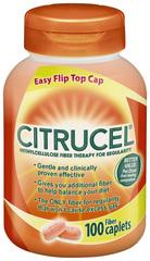Citrucel Fiber Caplets  - 100 Caplets