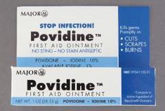 Povidine First Aid Ointment 10% Iodine - 1 Ounce