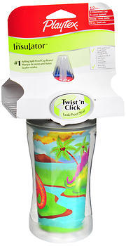 Playtex the Insulator Spill-Proof Cup with Straw - 9 Ounces