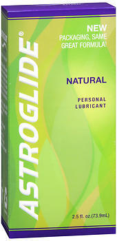 Astroglide Natural Personal Lubricant - 2.5 Ounces