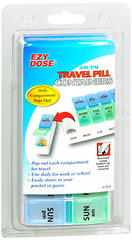 Ezy Dose AM/PM Travel Pill Containers