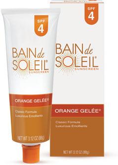 Bain de Soleil Orange Gelee Sunscreen SPF 4  -  3.12 OZ