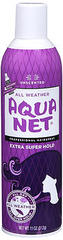 Aqua Net Hair Spray Aerosol  Extra Super Hold, Unscented - 11 Ounces