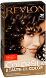 Revlon Ammonia-Free Haircolor, Level 3 Permanent, Dark Brown 30/3N  - 1ea