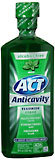 ACT Anticavity Fluoride Rinse, Mint  - 18oz