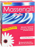 Massengill Disposable Twin Douche Country Flowers 2X6 Pack - 2 Each