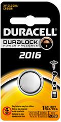 Duracell 3 Volt Lithium Battery 2016 - 1 EA