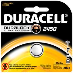 Duracell 3 Volt Lithium Battery DL2450 - 1 EA