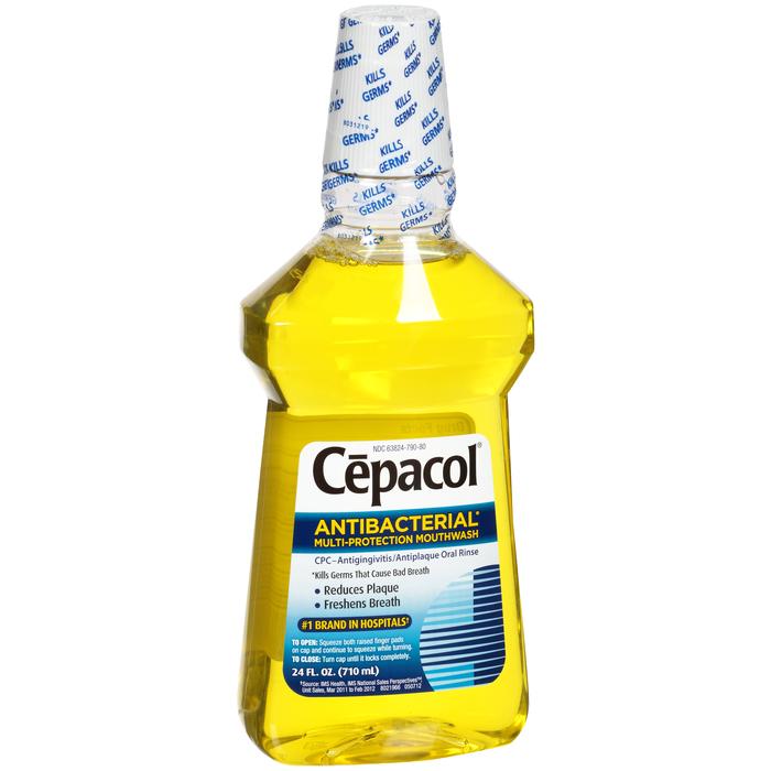 Cepacol Antibacterial Mouthwash - 24 Ounces