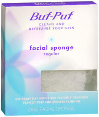 Buf-Puf Facial Sponge Regular - 1 Each
