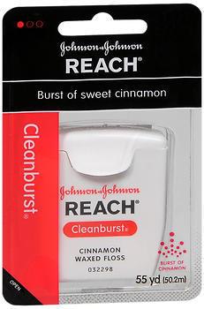 Reach Dental Floss, Waxed, Cinnamon  - 1ea