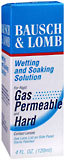Bausch & Lomb Wetting and Soaking Solution for Rigid Gas Permeable and Hard Contact Lenses  - 4oz