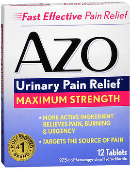 AZO Standard Tablets Maximum Strength - 12 TB