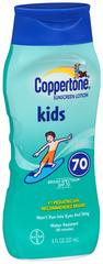 Coppertone Kids Sunscreen Lotion SPF 70+ - 8 OZ