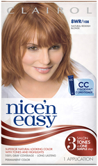 Nice 'n Easy Haircolor with Built-In Highlights, Level 3 Permanent, Natural Reddish Blonde 108  - 1ea