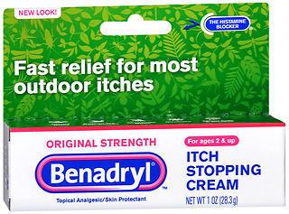 Benadryl Itch Stopping Cream, Original Strength  - 1oz
