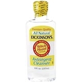 Dickinson's Witch Hazel Astringent Yellow - 8 Ounces