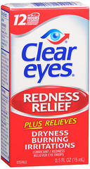 Clear Eyes Redness Relief  - 0.5 Ounces