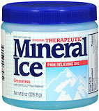 Mineral Ice Gel - 8 Ounces
