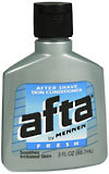 Afta After Shave Skin Conditioner Fresh Scent - 3 Ounces