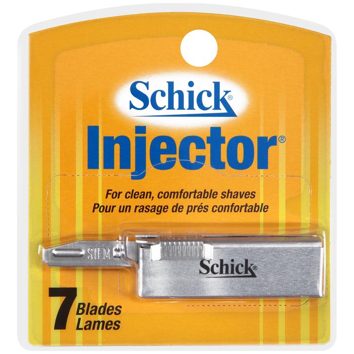 Schick Injector Blades - 7 Each