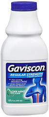 Gaviscon Antacid, Regular Strength, Liquid, Cool Mint  - 12oz