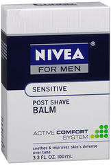 Nivea for Men After Shave Balm Sensitive - 3.3 Ounces