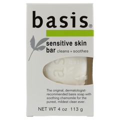 BASIS Sensitive Skin Bar Soap - 4 Ounces