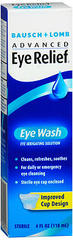 Bausch & Lomb Eye Wash Solution - 4 Ounces