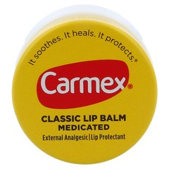 Carmex Classic Medicated Lip Balm - 12 Pack (12 Count X 0.25 Ounces Each)