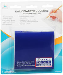 Flents Diabetic Specialty Products Daily Journal 1 Each- Case of 6
