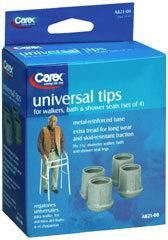 Carex Universal Tips A821-00 - 4 EA