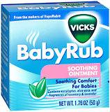 Vicks BabyRub Soothing Vapor Ointment  -  1.76 OZ
