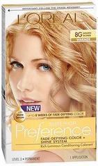 L'Oreal Preference - 8G Golden Blonde - 1 Each