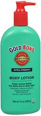Gold Bond Body Lotion Medicated Extra Strength - 14 Ounces