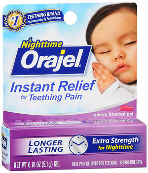 Baby Orajel Teething Pain Relief Gel  - 0.18oz