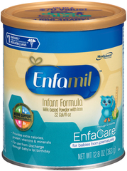 Enfamil Milk-Based Infant Formula, Iron Fortified, Powder  - 12.9oz