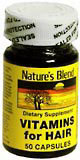 Nature's Blend Vitamins For Hair Capsules - 50 CP