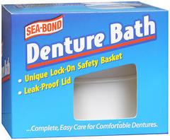 Sea Bond Denture Bath - 1 Each