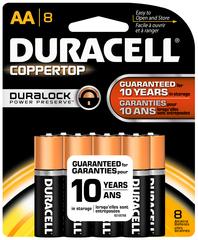 Duracell AA Alkaline Batteries 8-Pack - 8 EA