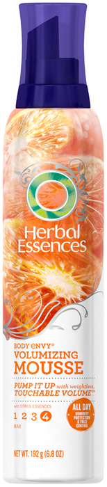 Herbal Essences Body Envy Mousse White Nectarine and Pink Coral Flower  -  6.8 OZ