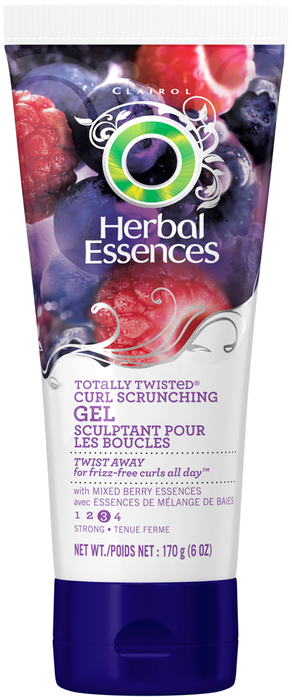Herbal Essences Totally Curl Scrunching Gel French Lavender Twist & Jade Extracts  -  6 OZ