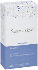 Summer's Eve Special Care Douche Twin Medicated 2X4.5 Pack - 2 Each